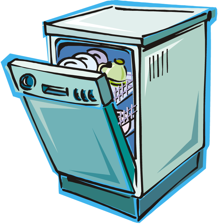 dishwasher clipart 208949981